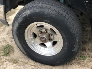 Chevy/GMC 6x5.5 American Racing Wheels and Tires $300 FIRM for Sale in New Port Richey, FL