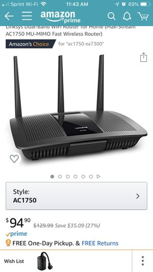 NICE, barely used modem and router for Sale in Canton, OH