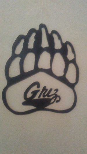 Montana metal grizzly paw for Sale in Missoula, MT