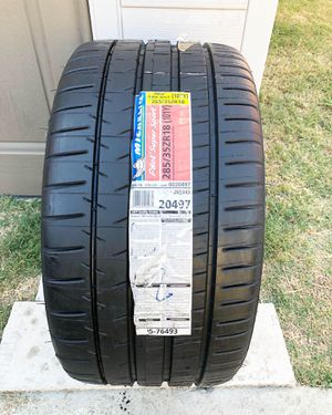 285/35/18 Michelin pilot super sport brand new single tire for Sale in South Gate, CA