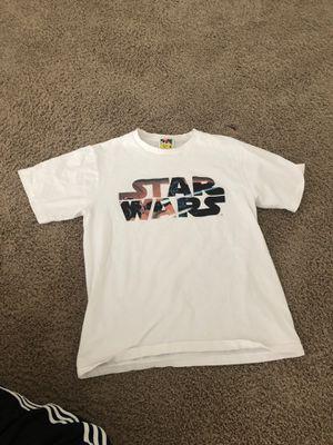 Star Wars X Bape Vintage Shirt for Sale in Camas, WA