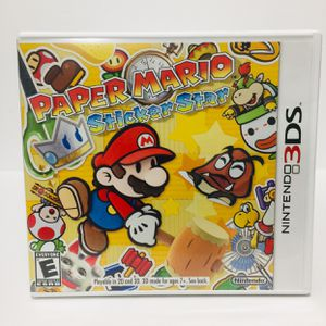 Paper Mario Sticker Star Nintendo 3DS/2DS for Sale in Mill Creek, WA