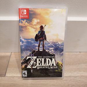 Zelda Breath of the Wild for Sale in Belmont, CA
