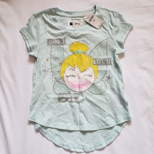Gap Kids Disney Tinkerbell T-Shirt - size XS (4-5) for Sale in Chamblee, GA