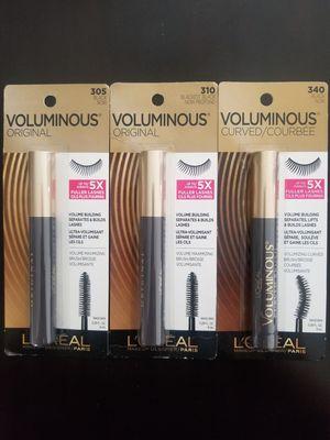 Loreal Volumnious Mascaras for Sale in Bellflower, CA