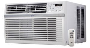 LG 10,000 BTU 115-Volt Window Mounted AC Air Conditioner With Remote And ENERGY STAR for Sale in San Diego, CA