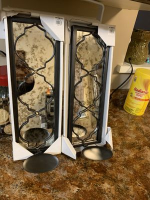 Wall Glass Candle Holders for Sale in Manassas, VA