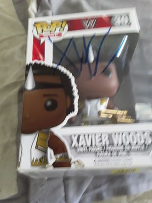 Wwe Xavier woods autographed funko pop for Sale in Downey, CA
