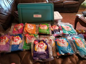 I have complete sets of 1997,1998 & 1999 McDonald's beanie babies! for Sale in Richardson, TX