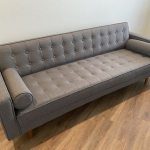 "Brand New 85"" Charcoal Sofa for Sale in Nashville, TN"