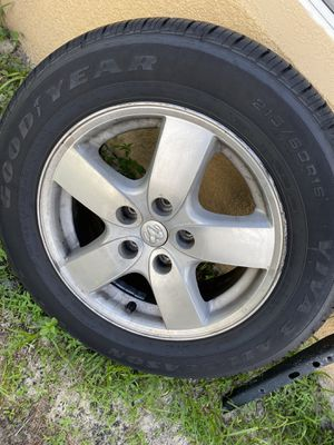 Dodge wheels and good year matching tires for Sale in Winter Haven, FL