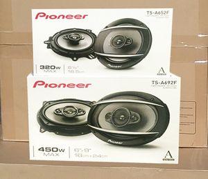 """Pioneer 6x9 Inch Pair 6"""" x 9"""" 320 Watts Car Audio Speakers 6.5 Inch Set 450 Watts Package for Sale in Los Angeles, CA"""