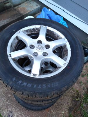 tires are sold like new with rims number 16 for Sale in Taylors, SC