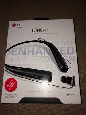 LG Tone Pro Wireless Bluetooth Headphones for Sale in The Woodlands, TX