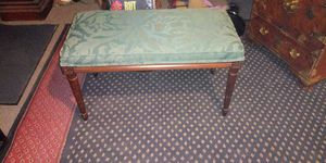 Vintage end of bed bench.latrge 30 inches long..17 inches tall. for Sale in Stockton, CA