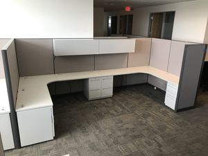All Steel 7x6 , office furniture, cubicles for Sale in Houston, TX