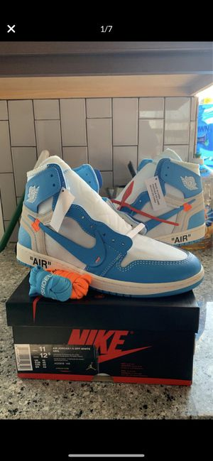Jordan 1 off white unc for Sale in Los Angeles, CA