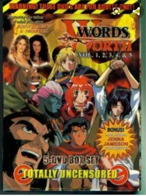 Wordsworth- Epic Adult Anime! 5 DVD boxed set! by NuTech ultra rare! for Sale in Eureka, MO