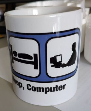 NEW Mug / Coffee Cup Gift (Eat, Sleep, Computer) for Sale in Rockville, MD