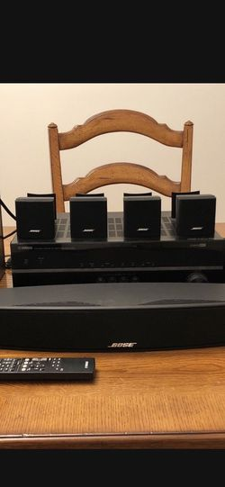 Bose Surround Sound Satilite 7.1 Speakers / Yamaha Receiver for Sale in Chicago,  IL
