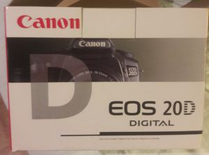 Conon EOS 20D Camera w Accessories for Sale in Fort Lauderdale, FL