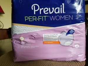 PREVAIL PER-FIT WOMEN DEPENDS/BUT ON PACKAGE IT SAYS UNDERWEAR for Sale in Farwell, MI