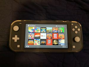 Nintendo Switch Lite With Games Installed for Sale in Salt Lake City, UT