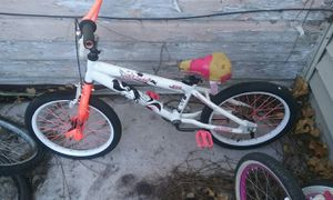 Kids bike rideable seats hits wear for Sale in Cleveland, OH
