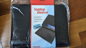 Brand New- Toshiba 14-Inch Laptop Sleeve (Stylish faux-suede) for Sale in Tampa, FL