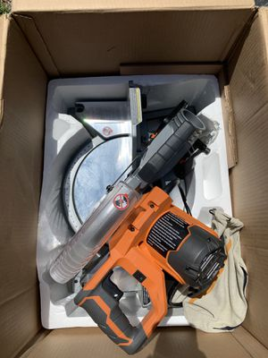 Miter saw 10 inches double bevel Ridgid for Sale in Tampa, FL