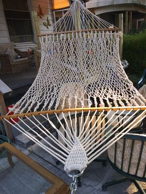 Hateras rope hammock for Sale in Penbrook, PA