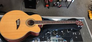 DEAN EABC Electric Acoustic Bass Guitar Comes with case for Sale in Revere, MA