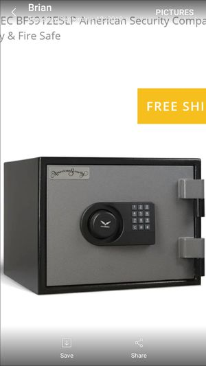 BRAND NEW AMERICAN SECURITY 80 MINUTE FIRE PROOF SAFE for Sale in Rancho Cucamonga, CA