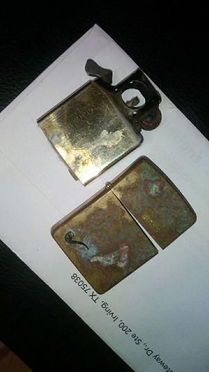 Gold brass zippo for Sale in Houston, TX