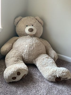 "Huge 53"" stuffed teddy bear for Sale in Puyallup, WA"