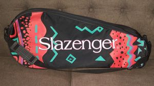 Awesome Vintage 80s Slazenger Double Tennis Racket Bag Badminton Racquet Ball for Sale in Tampa, FL