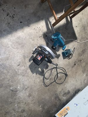 Skill saw Milwaukee saw/ charger no battery for Sale in Stockton, CA