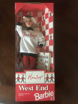 Hamleys Special Edition West End Barbie. Hamleys is the oldest & largest toy store in London. for Sale in Santa Clara, CA