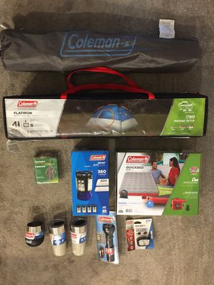 Coleman Camping Kit for Sale in Chicago, IL