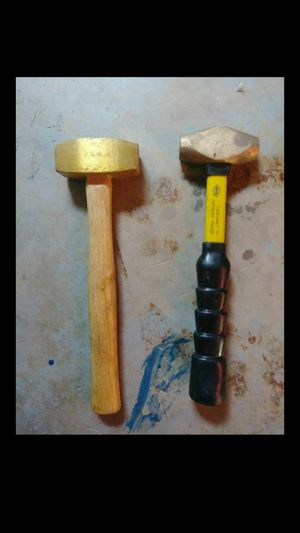 Copper and brass hammers for Sale in Las Vegas, NV