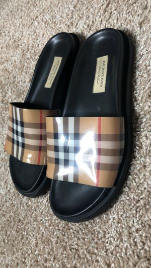 Burberry Slides for Sale in Mesquite, TX