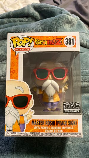 Master Roshi peace sign FYE exclusive for Sale in San Jose, CA