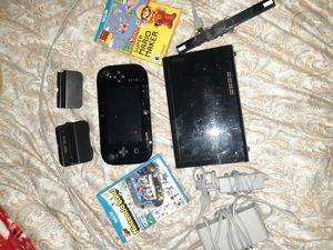 Wii u with games for Sale in Tacoma, WA