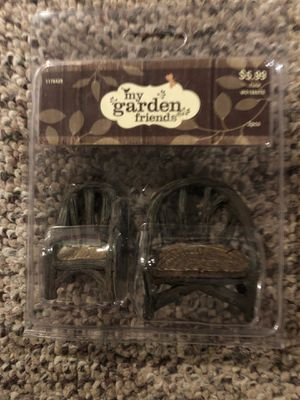 My Garden Friends- miniature Wooden Chairs for Sale in Plainfield, IL