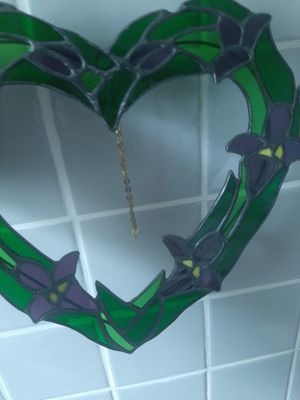 Stain glass heart for Sale in Hartford, CT