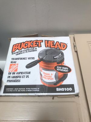 Bucket head vacuum for Sale in Sandy, UT