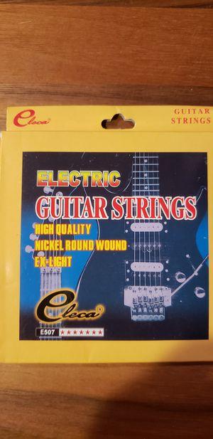 ELECTRIC GUITAR STRINGS for Sale in Phoenix, AZ