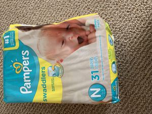 Newborn Diapers for Sale in Greenville, SC
