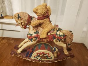 Rocking Horse and teddy bear for Sale in Elizabethtown, PA