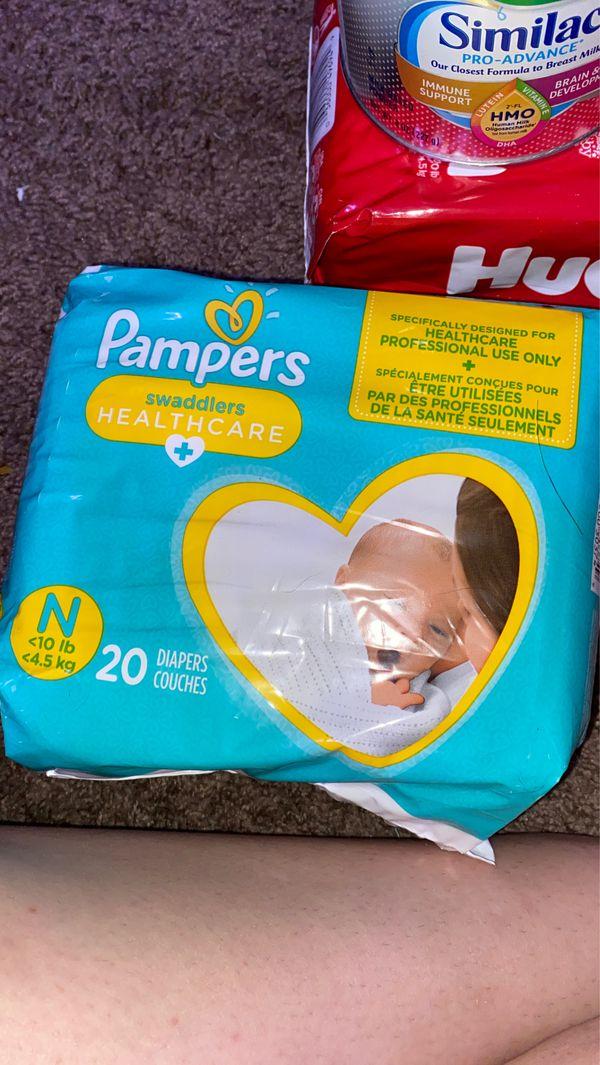 Diapers/formula